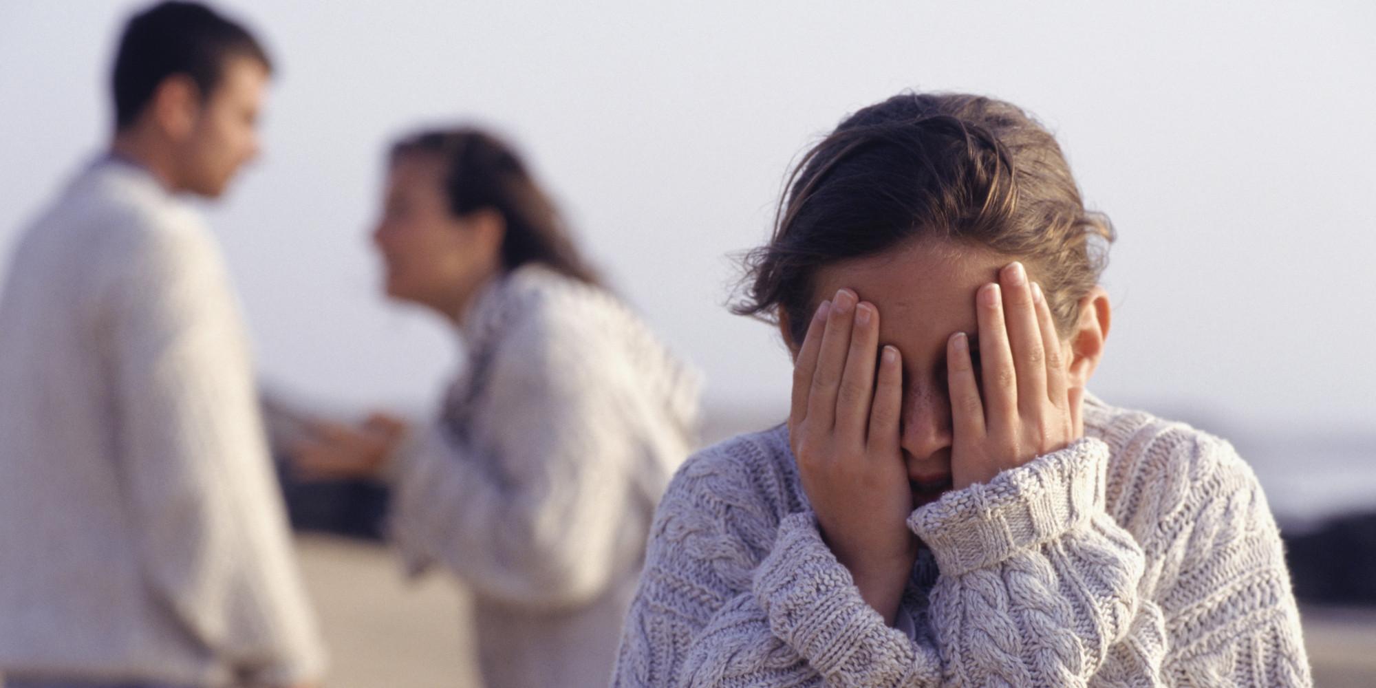 الطلاق وغضب الاطفال