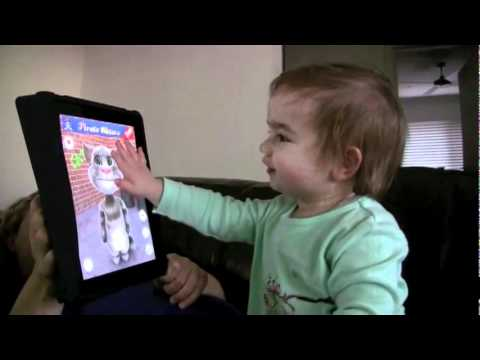 خطر الآيباد على صحة الطفل