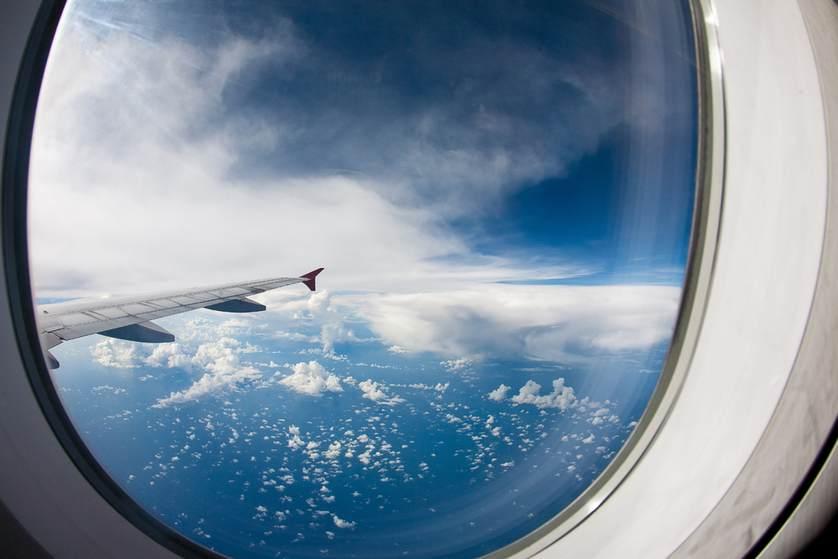 شباك طائرة 4