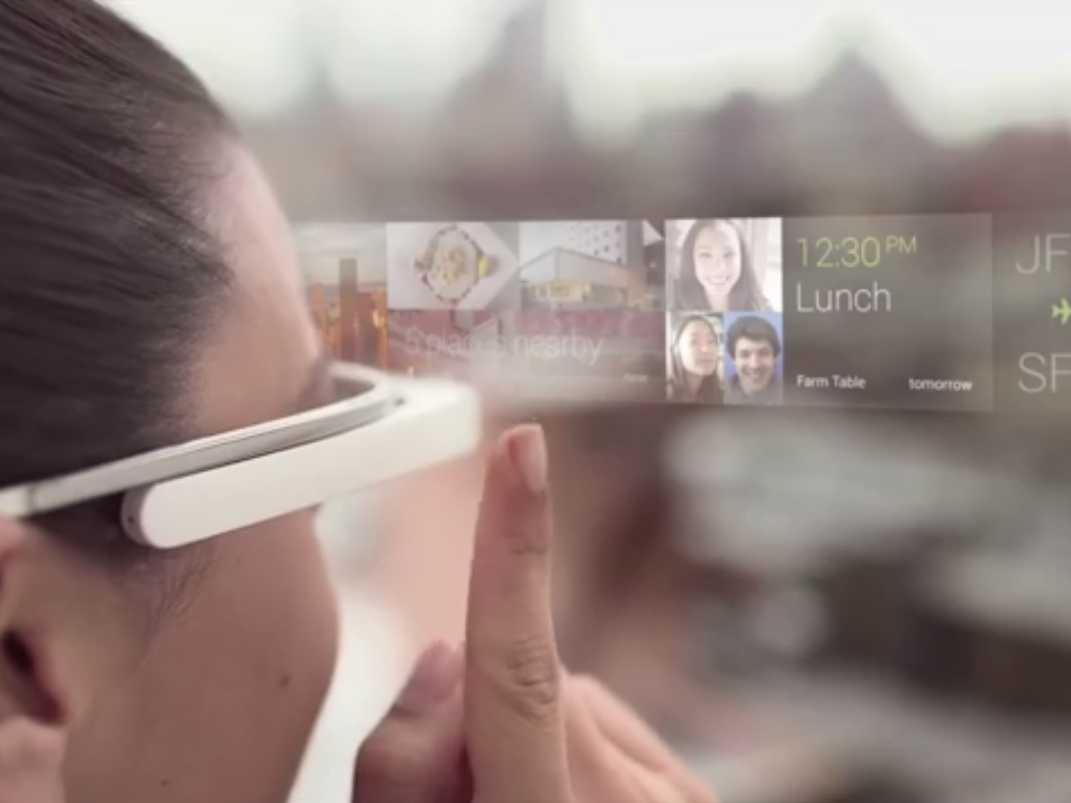 نظارة غوغل الذكية